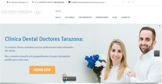 clinicadentaldoctorestarazona