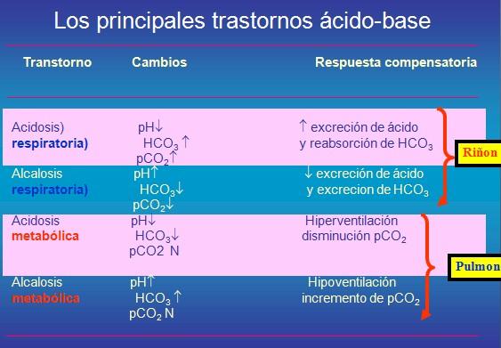 Diferencia Entre Acidosis Metabolica Y Respiratoria