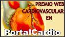 Premio a la mejor web cardiovascular en PortalCardio