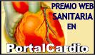 Premio a la mejor web sanitaria en PortalCardio