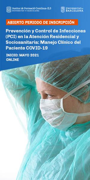 Curso Prevención y Control de Infecciones (PCI) en la Atención Residencial y Sociosanitaria: Covid-19