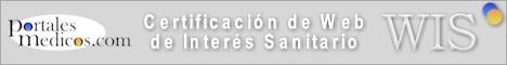 Certificacion de Web de Interes Sanitario de PortalesMedicos.com